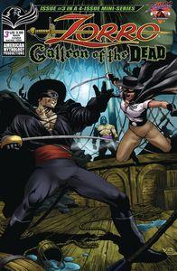 [Zorro: Galleon Of The Dead #3 (Cover A Martinez) (Product Image)]