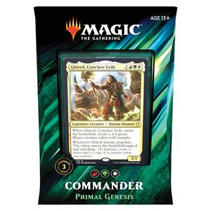 [Magic The Gathering: Commander 2019: Primal Genesis (Product Image)]