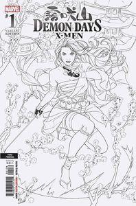 [Demon Days: X-Men #1 (3rd Printing Brooks Ratio Variant) (Product Image)]