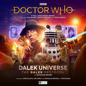 [Doctor Who: The Fourth Doctor Adventures: Dalek Universe: The Dalek Protocol (Product Image)]