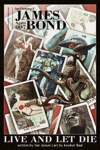 [James Bond: Live & Let Die (Hardcover) (Product Image)]