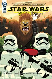 [Star Wars Adventures #28 (Cover A Charm) (Product Image)]