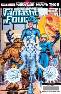 [Fantastic Four #24 (2nd Printing Art Adams Variant) (Product Image)]