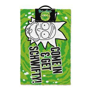 [Rick & Morty: Door Mat: Get Schwifty (Product Image)]