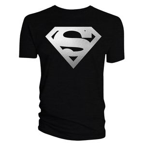 [Superman: T-Shirt: Silver Logo (Product Image)]