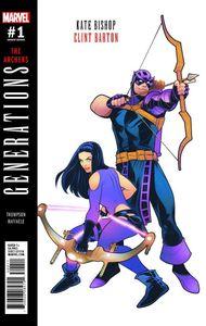 [Generations: Hawkeye & Hawkeye #1 (Torque Variant) (Product Image)]