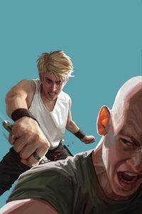 [Gung Ho: Anger #4 (Cover E Clarke Virgin Variant) (Product Image)]