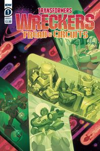 [Transformers: Wreckers: Tread & Circuits #1 (Cover B Malk) (Product Image)]