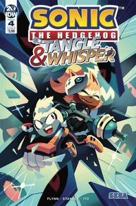 [Sonic The Hedgehog: Tangle & Whisper #4 (Cover B Fourdrai) (Product Image)]