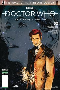 [Doctor Who: Road To The 13th Doctor #2 (11th Cover A Hack) (Product Image)]