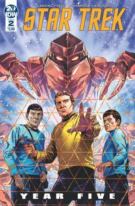 [Star Trek: Year Five #2 (Cover A Thompson) (Product Image)]