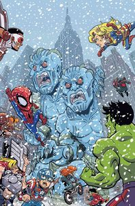 [Marvel: Super Hero Adventures: Captain Marvel: Frost Giants #1 (Product Image)]