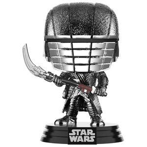 [Star Wars: The Rise Of Skywalker: Pop! Vinyl Bobblehead: Hematite Chrome Knight Of Ren With Scythe (Product Image)]