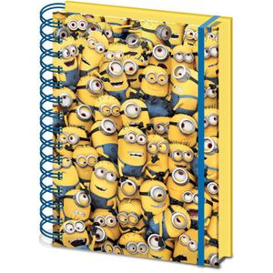 [Despicable Me: Notebook: Many Minions 3D Cover (Product Image)]