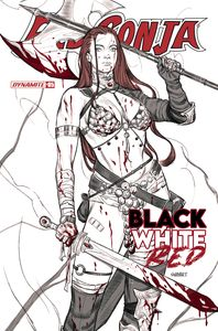 [Red Sonja: Black White Red #5 (Cover B Sway) (Product Image)]