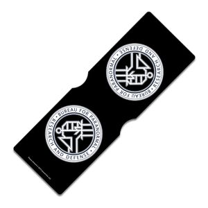 [Hellboy: Travel Pass Holder: B.P.R.D. Crest (Product Image)]