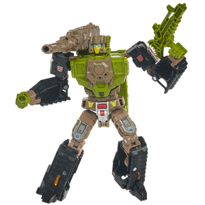 [Transformers: Generations: Deluxe Headmasters Retro Action Figure: Hardhead (Product Image)]