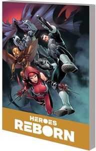 [Heroes Reborn: America Mightiest Hero Companion: Volume 2 (Product Image)]