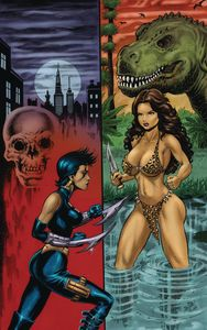 [Cavewoman: Razors Run #1 (Cover E Parsons) (Product Image)]