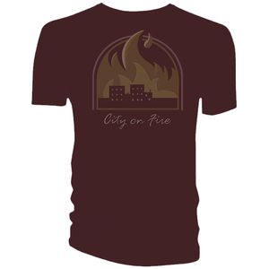 [Life Is Strange: T-Shirt: Chloe's City On Fire (Product Image)]