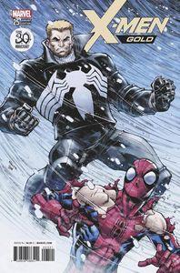 [X-Men: Gold #25 (Venom 30th Variant) (Legacy) (Product Image)]