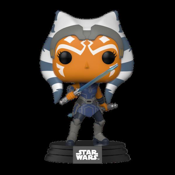[The cover for Star Wars: The Clone Wars: Pop! Vinyl Bobblehead Figure: Ahsoka]
