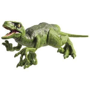 [Jurassic World: Fallen Kingdom: Attack Pack Action Figure: Green Velociraptor (Product Image)]