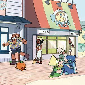 [Steven Universe: Harmony #3 (Subscription Ganucheau Variant) (Product Image)]