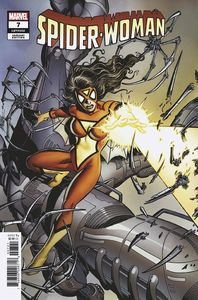 [Spider-Woman #7 (Perez Hidden Gem Variant KIB) (Product Image)]