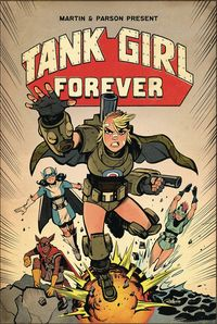 [The cover for Tank Girl #8 (Cover A Parson)]