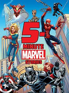 [5-Minute Marvel Stories (Hardcover) (Product Image)]