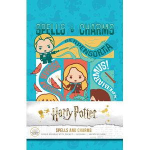 [Harry Potter: Spells & Charms: Ruled Journal (Hardcover) (Product Image)]