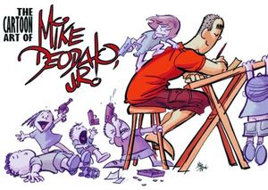[Cartoon Art Of Mike Deodato Jr (Product Image)]