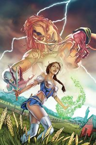 [Oz Annual: Patchwork Girl: One Shot #1 (Cover A Vitorino) (Product Image)]