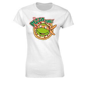 [Teenage Mutant Ninja Turtles: Women's Fit T-Shirt: It's Pizza Time! (Product Image)]