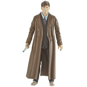 [Doctor Who: Wave 3 Action Figures: 10th Doctor Brown Suit & Long Coat (Product Image)]