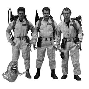 [Ghostbusters: Deluxe Action Figures Dr. 3 Pack: Founding Members (Product Image)]