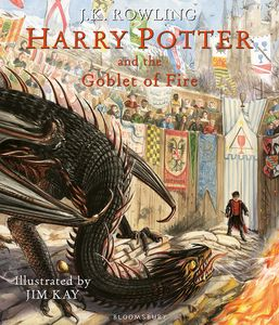 [Harry Potter & The Goblet Of Fire (Illustrated Signed Edition Hardcover) (Product Image)]