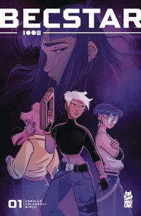 [The cover for Becstar #1]