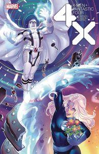 [X-Men: Fantastic Four #4 (Hetrick Flower Variant) (Product Image)]