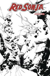 [Red Sonja #17 (Lee Black & White Variant) (Product Image)]