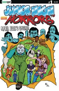 [Junior High Horrors: April Fools Special #1 (Cover A Gs X-Men Pa) (Product Image)]