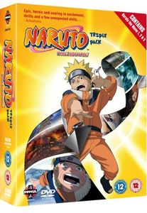 [Naruto: The Movie Triple Pack (Product Image)]