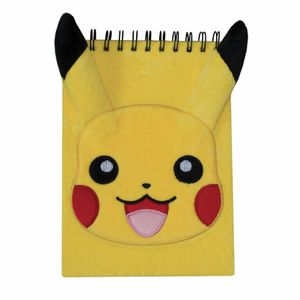 [Pokémon: Plush Novelty Notebook: Pikachu (Product Image)]