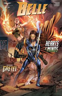 [The cover for Belle: Hearts & Minds #1 (One Shot - Cover A Vitorino)]