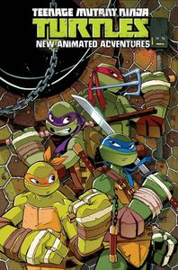 [Teenage Mutant Ninja Turtles: New Animated Adventures: Omnibus Volume 1 (Product Image)]