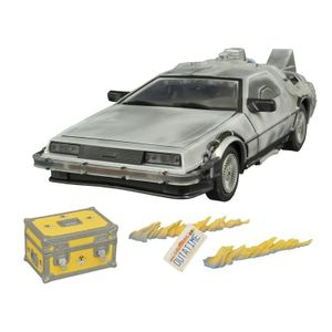 [Back To The Future: Time Machine Vehicle Collector Set: Iced Delorean (Product Image)]