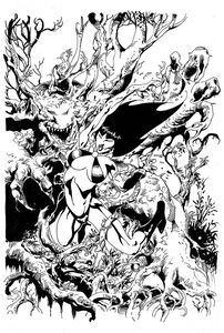 [Vengeance Of Vampirella #13 (Castro Black & White Virgin Variant) (Product Image)]