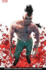 [Wolverine #13 (Jimenez Pride Month Variant Gala) (Product Image)]