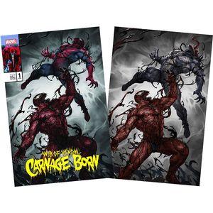 [Web Of Venom: Carnage Born #1 (Skan Spider-Man Virgin Variant Set) (Product Image)]